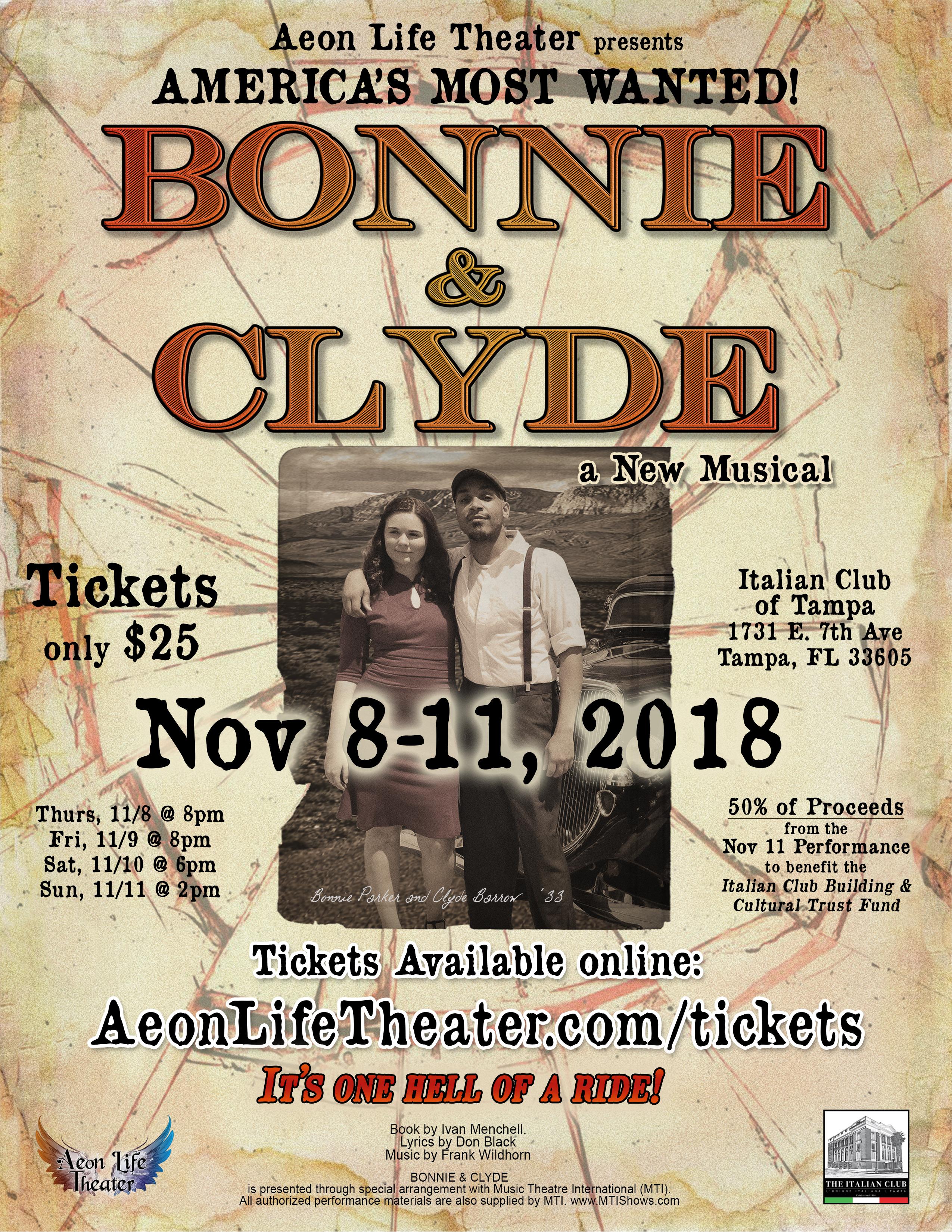Bonnie & Clyde Flyer