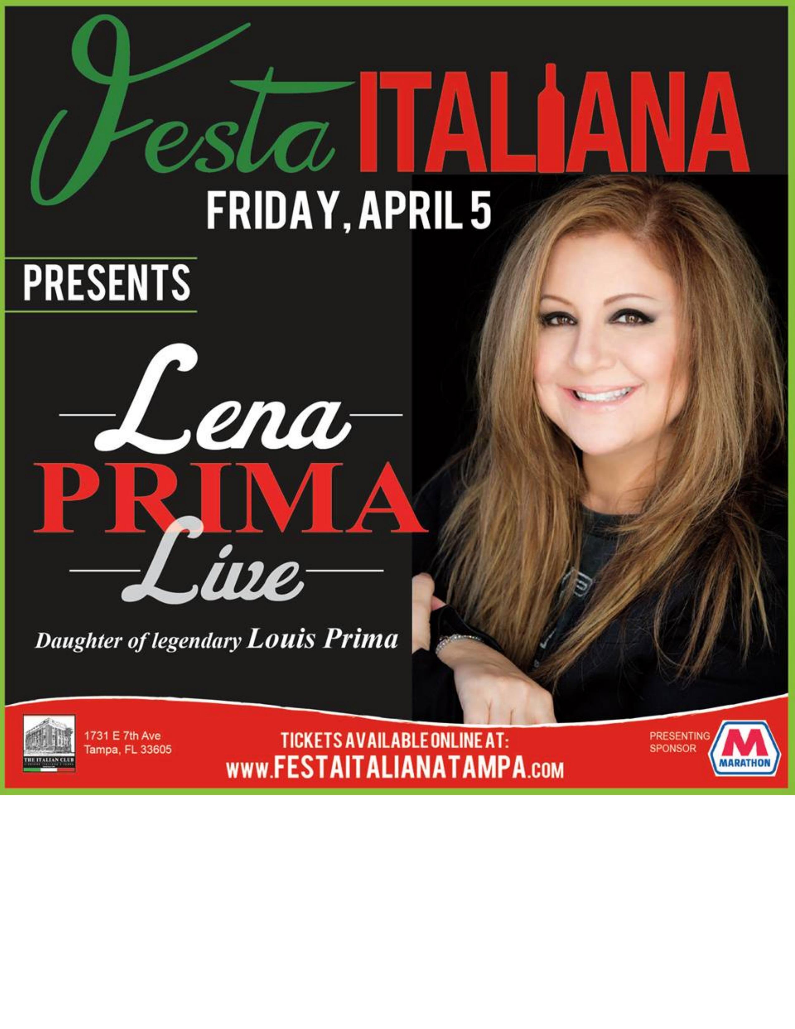 Lena Prima LIVE!
