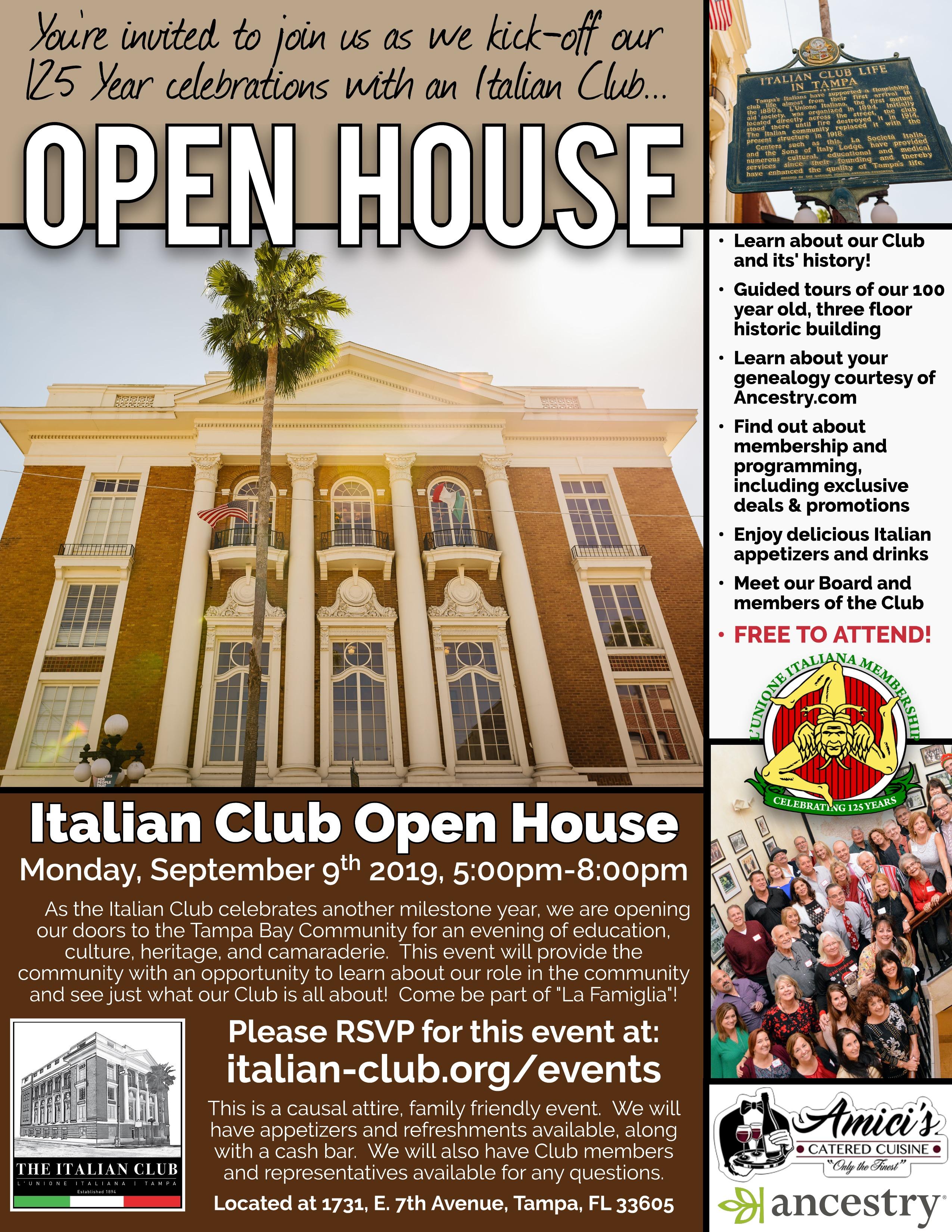 IC Open House (September)