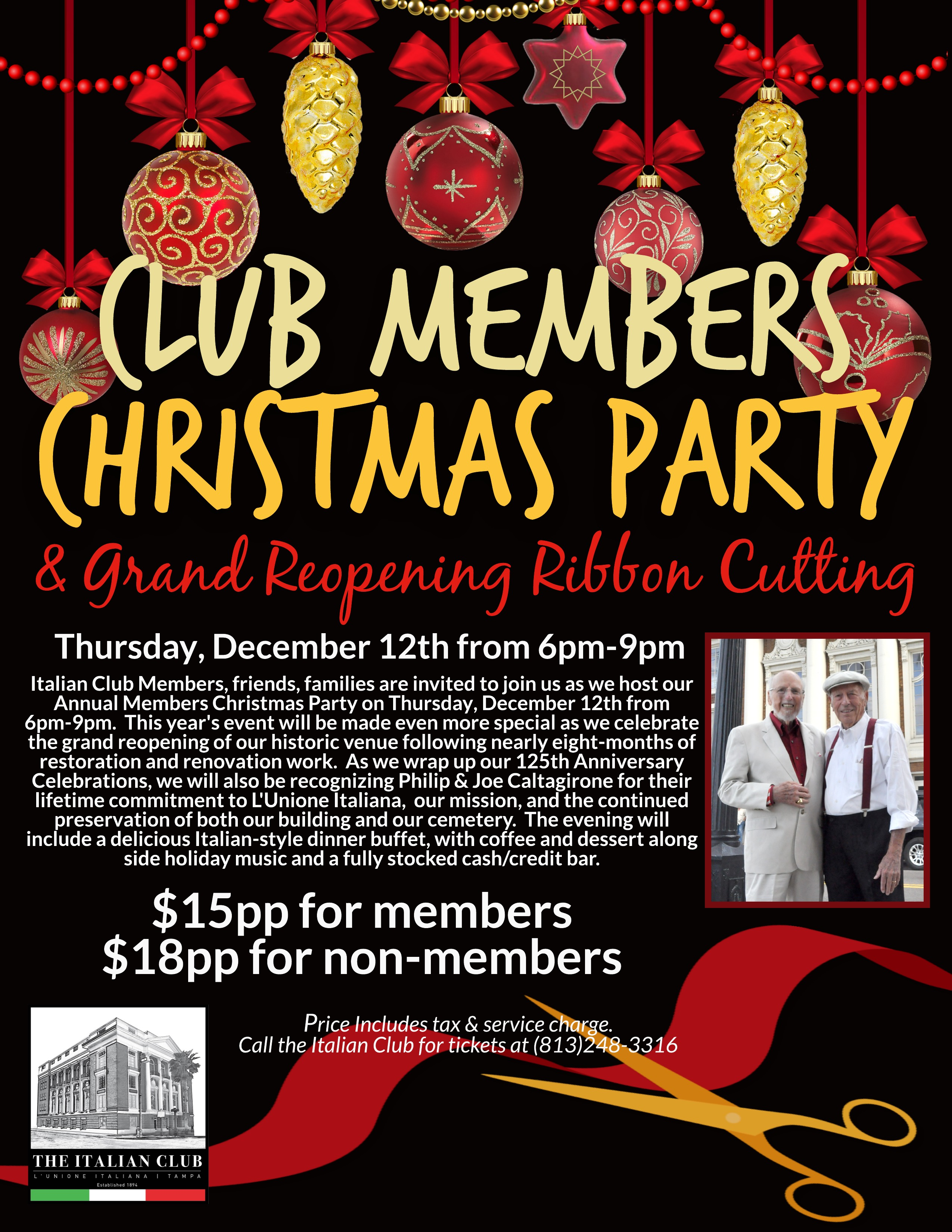 IC Members Holiday Party